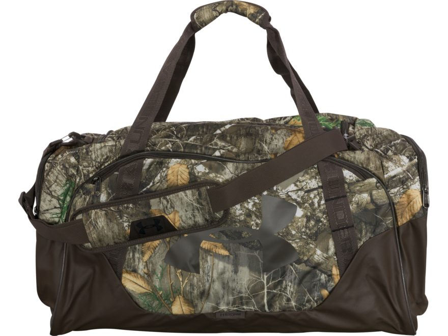 0e441077e63b Under Armour Camo Undeniable III Duffel Bag Medium Realtree Edge Camo
