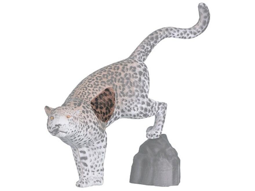 Rinehart Leopard with Rock 3D Foam Archery Target Replacement Insert