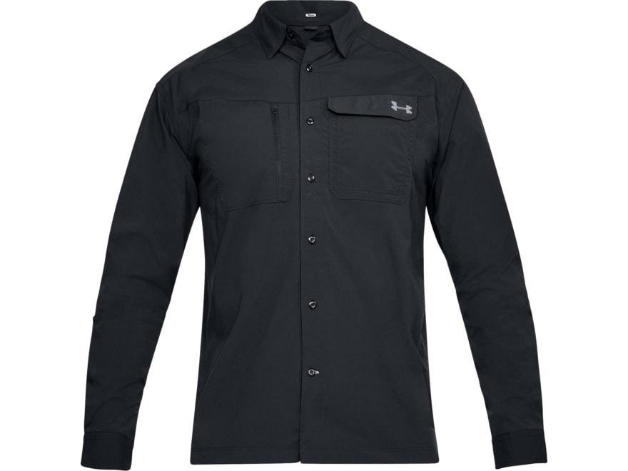 Under Armour Men's UA Fish Hunter Button-Up Shirt Long Sleeve Nylon