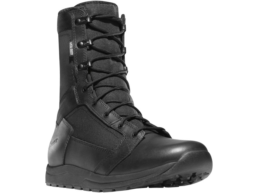 "Danner Tachyon 8"" Waterproof GORE-TEX Tactical Boots Leather/Nylon Black Men's"