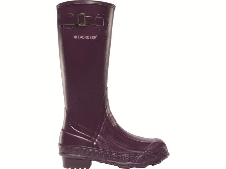 """LaCrosse Grange 14"""" Waterproof Work Boots Rubber Women's"""