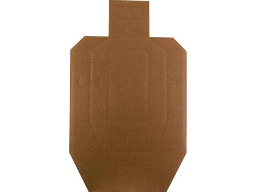 MidwayUSA Official USPSA Target 1/2 Size Cardboard