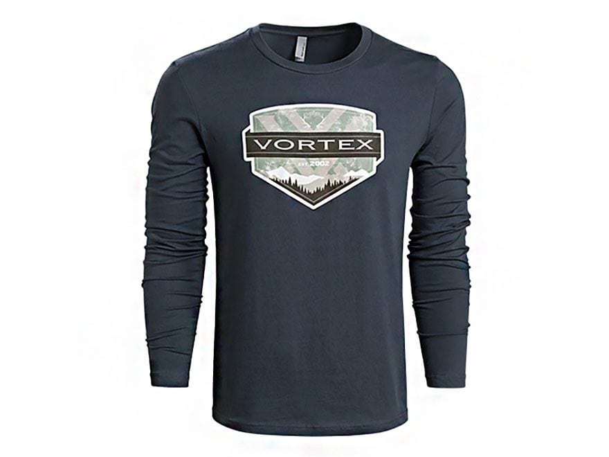 Vortex Optics Men's Vintage Shirt Long Sleeve Cotton