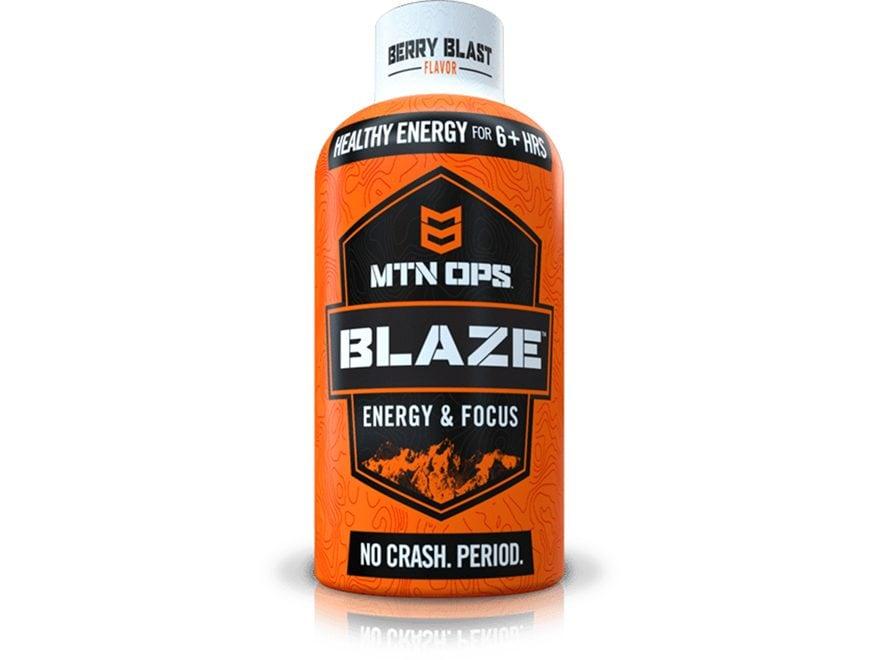 MTN OPS Blaze Energy Supplement Shot