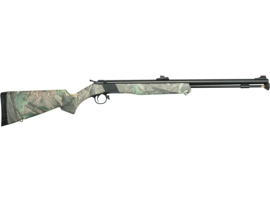 "CVA Wolf Muzzleloading Rifle with Fiber Optic Sights 50 Caliber 24"" Nitride Stainless S..."