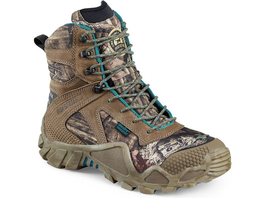 "Irish Setter VaprTrek 8"" Waterproof 400 Gram Insulated Hunting Boots Nylon and Leather ..."