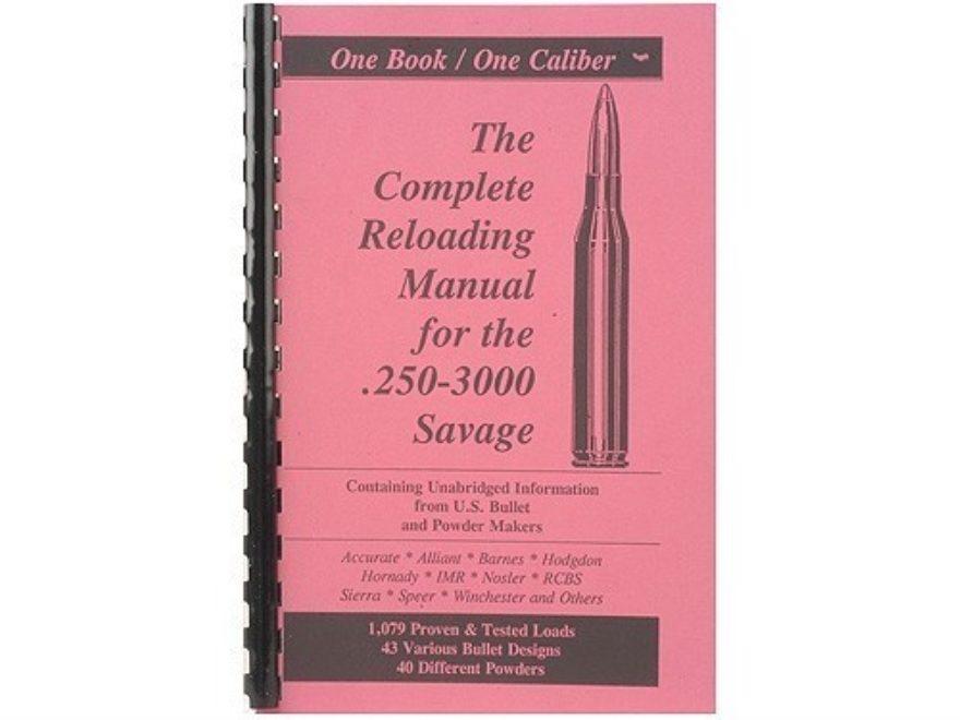 "Loadbooks USA ""250 Savage"" Reloading Manual"