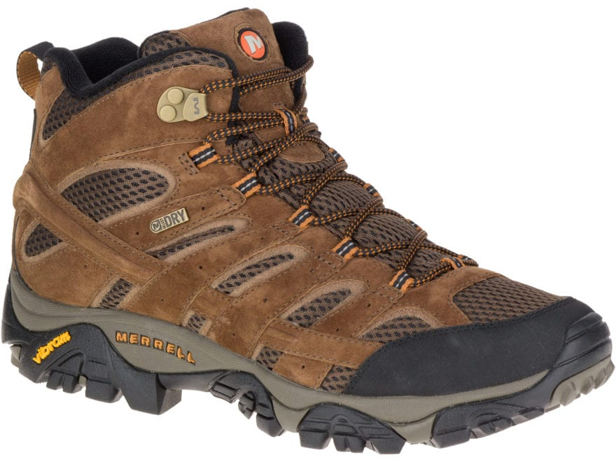 "Merrell Moab 2 Mid 5"" Hiking Boots Leather/Synthetic Men's"