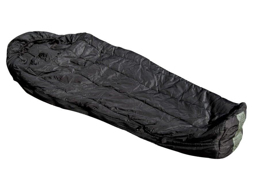 Military Surplus Mss Intermediate 10 Degree Mummy Sleeping Bag Nylon Black