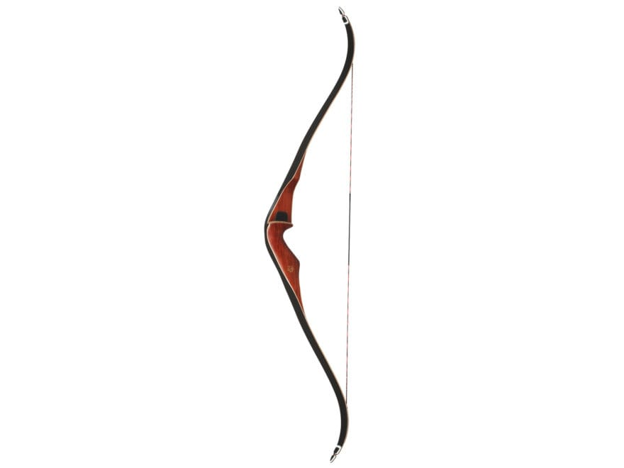 "Bear Archery Super Mag 48"" Recurve Bow Right Hand 50 lb Africa Bubinga Wood Riser Maple..."