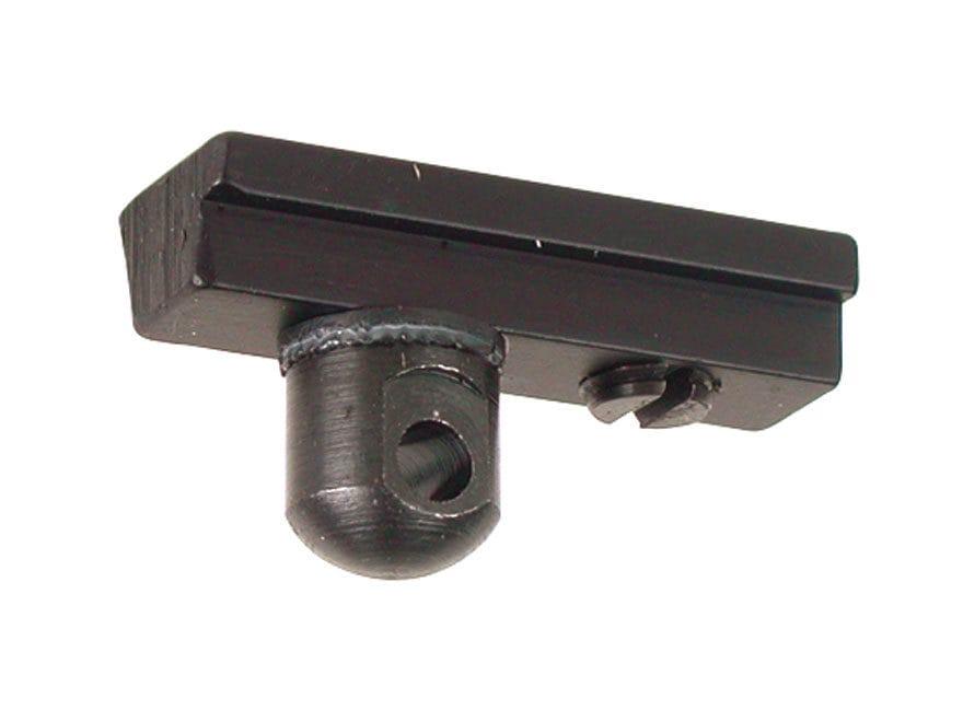 "Harris #6A Bipod Adapter Stud for American Rails 5/16"" Width Black"