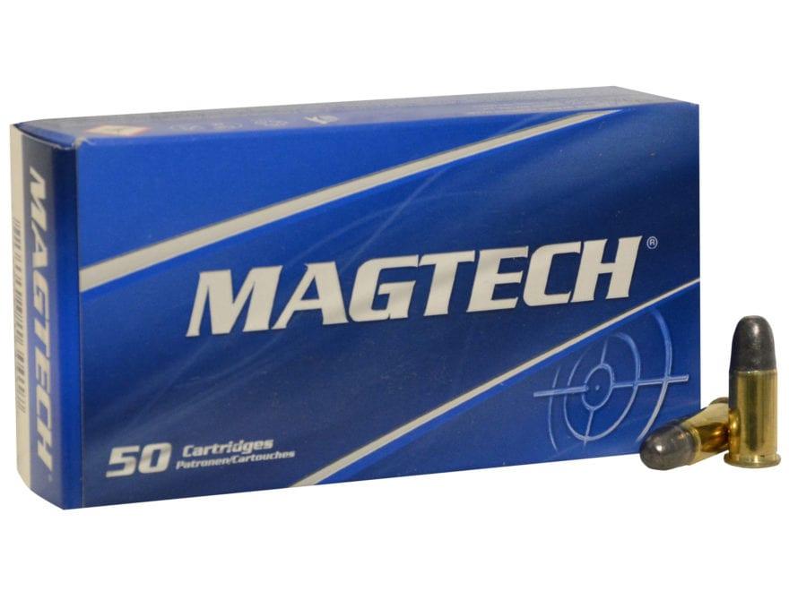 Magtech Sport Ammunition 38 Special Short 125 Grain Lead Round Nose Box of 50