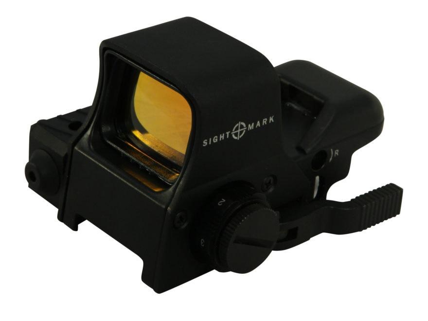 Sightmark Ultra Dual Shot Pro Spec Night Vision Reflex Sight 1x Quick Detach 4 Pattern ...