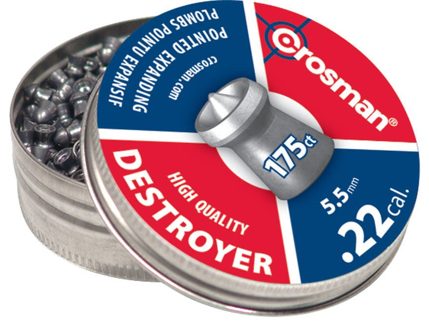 Crosman Destroyer Airgun Pellets