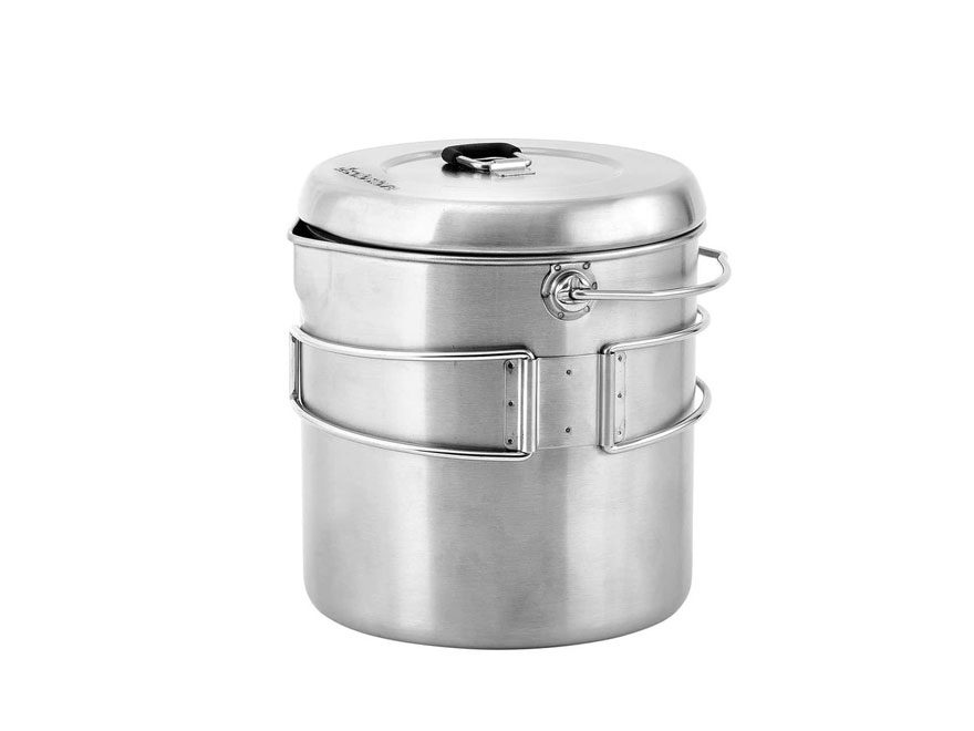 Solo Stove Titan Camp Stove Pot 1800 Stainless Steel