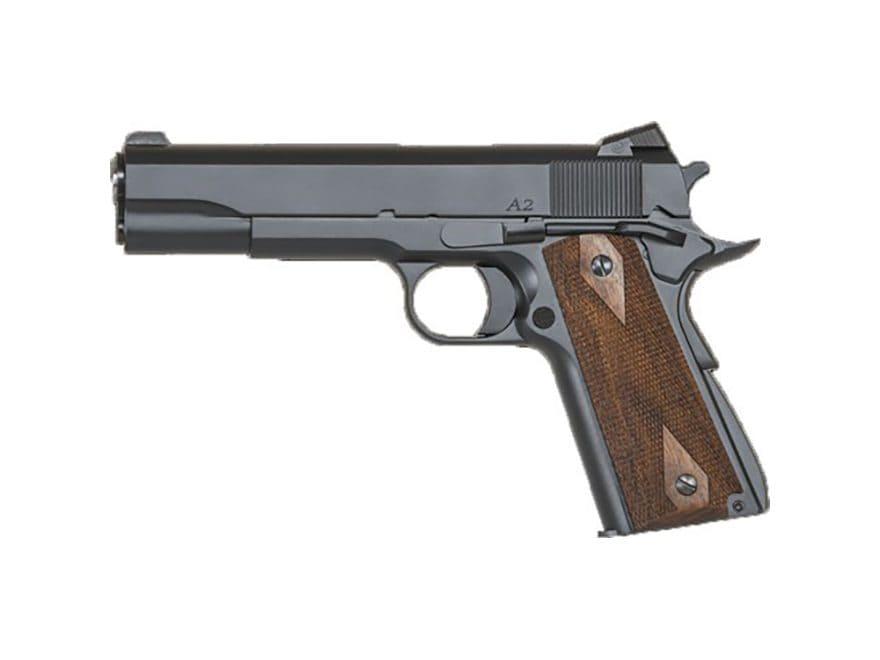 """CZ Dan Wesson 1911 A2 Pistol 45 ACP 5"""" Barrel 7-Round Matte Wood"""