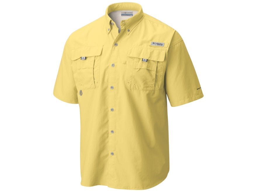 0f78b1ecebf Columbia Men s PFG Bahama II Button-Up Shirt Short Sleeve Nylon Cool