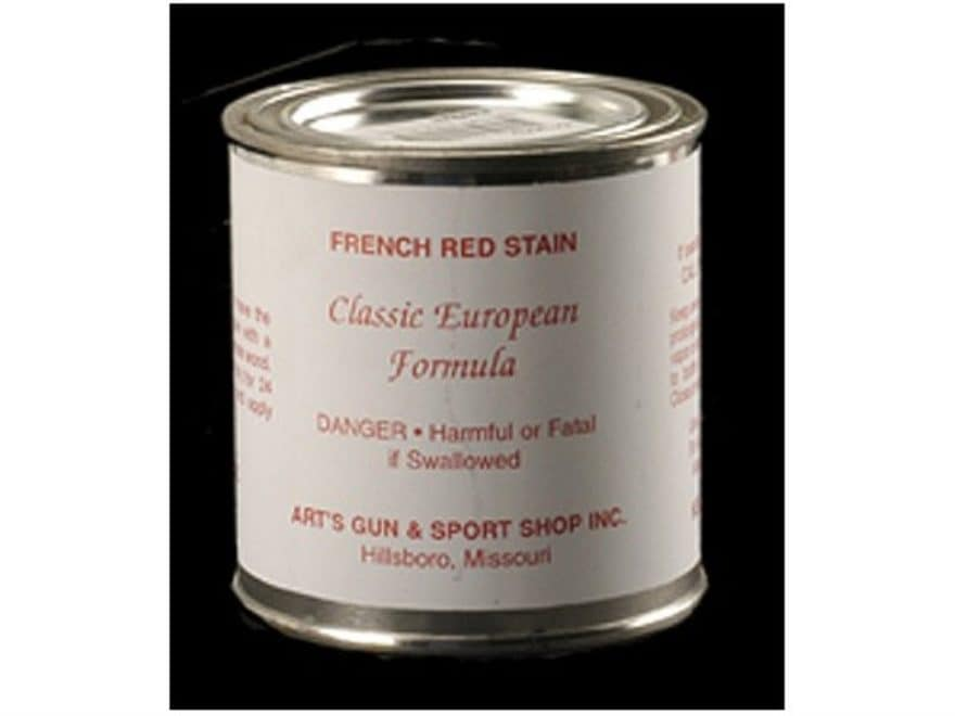Art's Wood Stock Stain French Red 8 oz Liquid