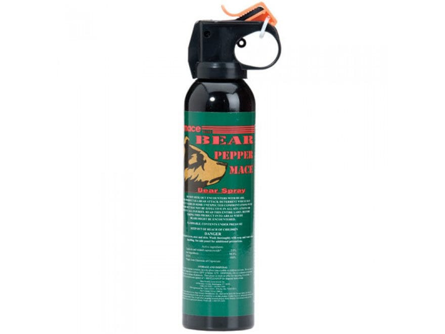 Mace Brand Bear Pepper Spray 260 Gram 2% Capsaicinoid Concentration