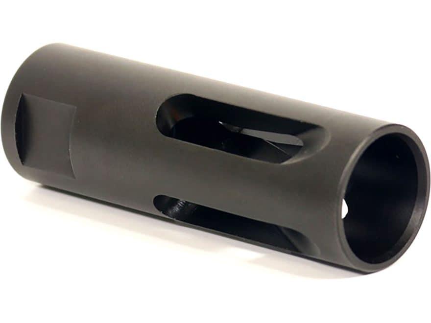"Yankee Hill Machine Low Profile Flash Hider AR-15 5.56 1/2""-28 Thread Steel Melonite"