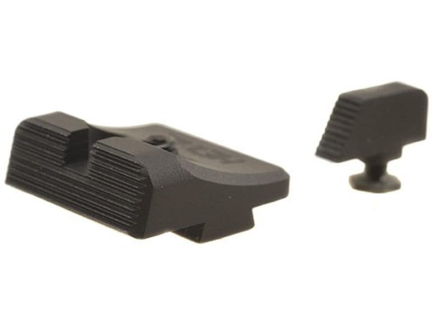 Heinie SlantPro Sight Set Glock 17, 19, 22, 23, 34, 35, 24, 21, 20  Steel Blue