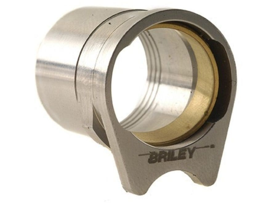 "Briley Oversized Spherical Barrel Bushing with .578"" Ring 1911 Government Stainless Steel"