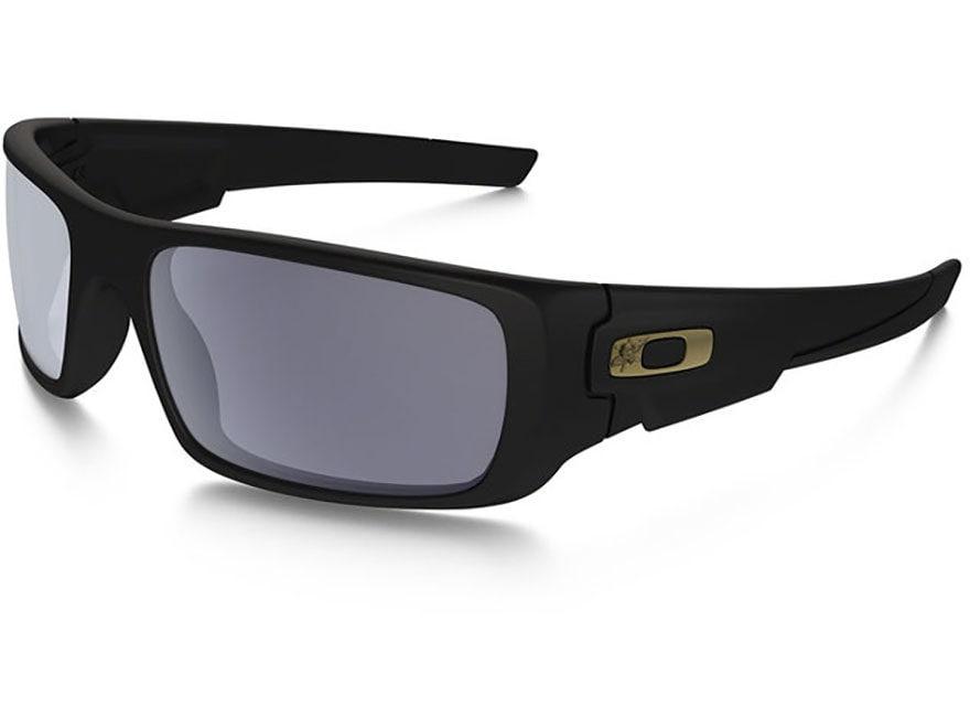 Oakley SI Crankshaft Force Recon Sunglasses Black Frame/Gray Lens