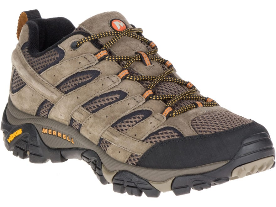 """Merrell Moab 2 Vent Low 4"""" Hiking Shoes Leather/Synthetic Men's"""