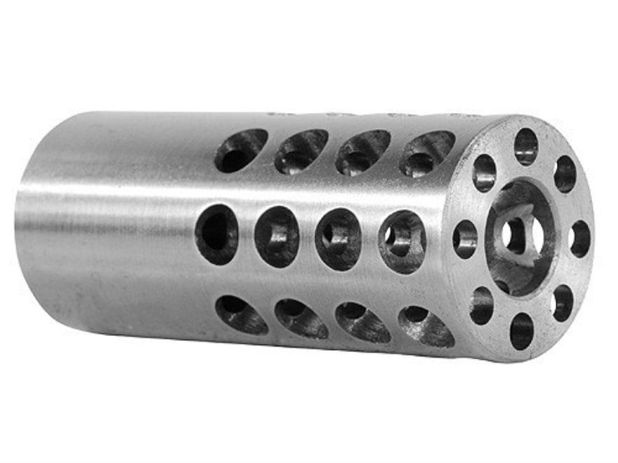 "Vais Muzzle Brake 13/16"" 358 Caliber 9/16""-32 Thread .812"" Outside Diameter x 2"" Length"