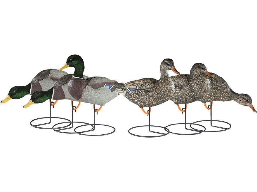 Dakota Decoy X-Treme Full Body Mallard Duck Decoy Pack of 6