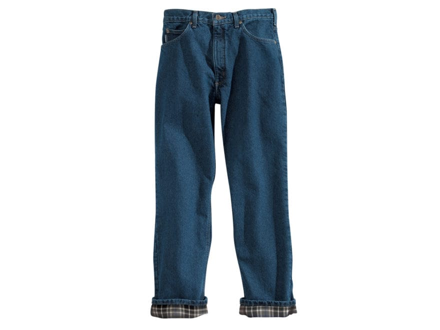 Carhartt Men's Relaxed Fit Straight Leg Flannel Lined Pants Cotton