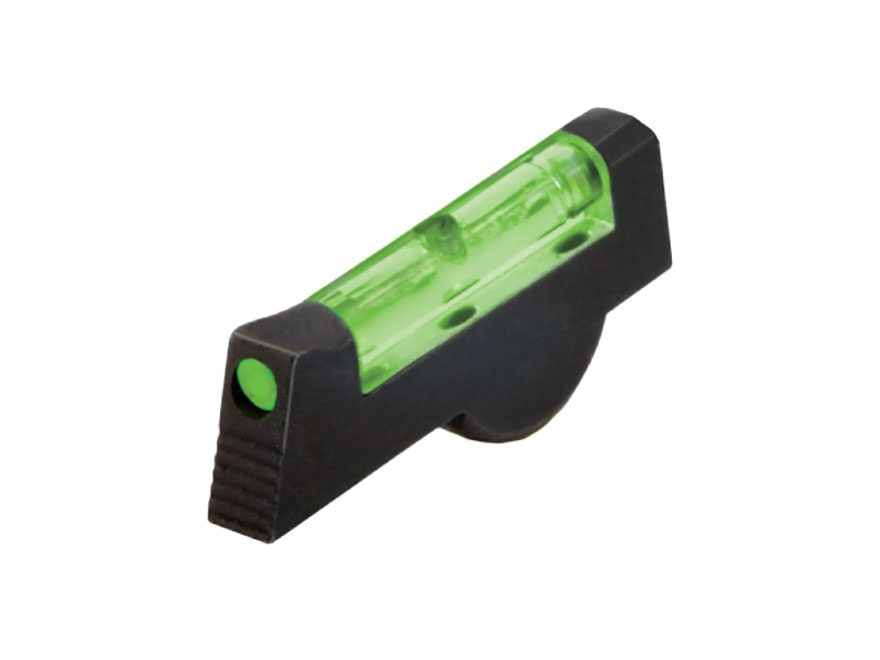 HIVIZ Front Sight S&W 617 Revolver Front Sight Steel Fiber Optic