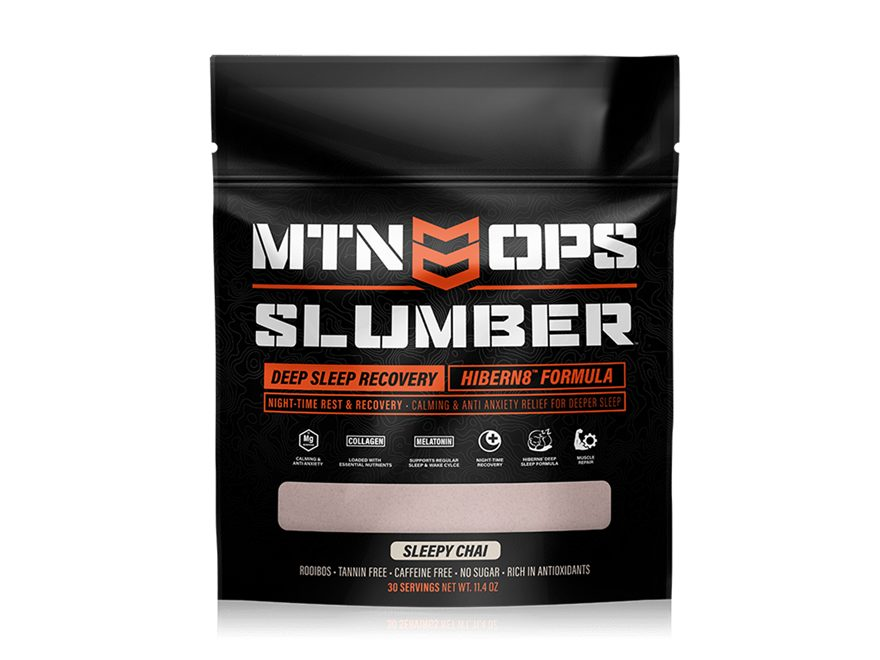MTN OPS Slumber Sleep & Recovery Supplement Chai 30 Serving