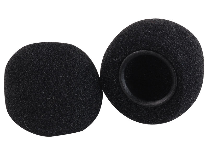 Peltor Tactical 6S Microphone Replacement Covers Foam Black
