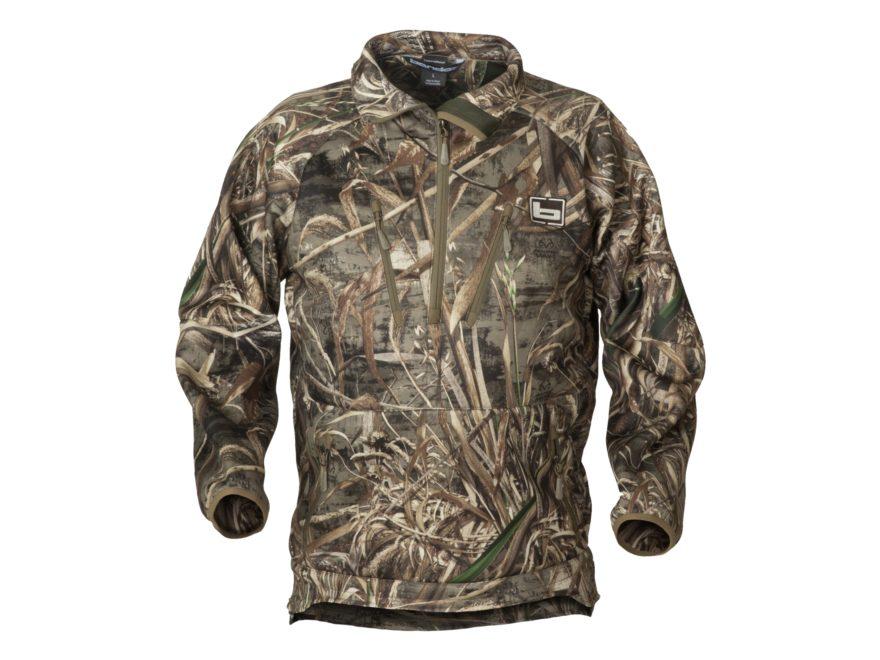 Banded Men's Heavy Tec Fleece 1/2 Zip Pullover Polyester