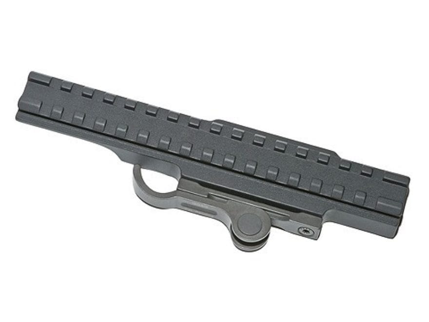 "GG&G Accucam Quick-Detach Extended Picatinny-Style Riser Mount 7"" AR-15 Flat-Top Matte"