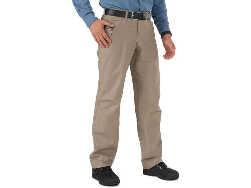 5.11 Men's Ridgeline Tactical Pants with Flex-Tac Ripstop Polyester and Cotton Blend