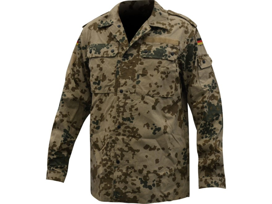 a8dbc95c18ded Military Surplus German Tropical Camo Field Shirt. Alternate Image;  Alternate Image