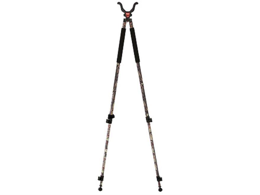 "Bog-Pod CLD-2 (Camo Legged Devil) Tall Bipod Shooting Sticks 22"" to 68"" Swivel Head All..."