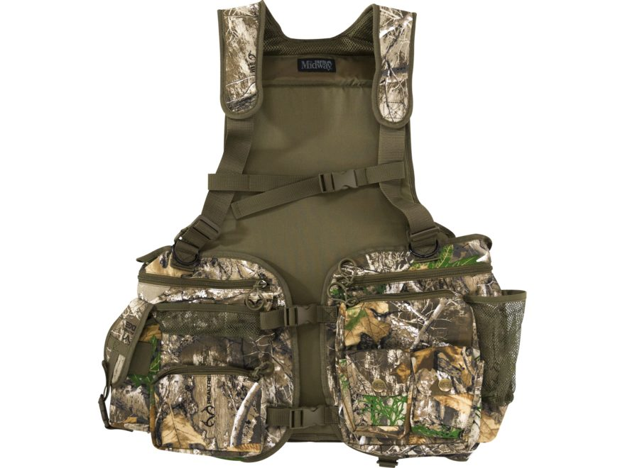 001b3e5a MidwayUSA Full Strut Turkey Vest Realtree EDGE