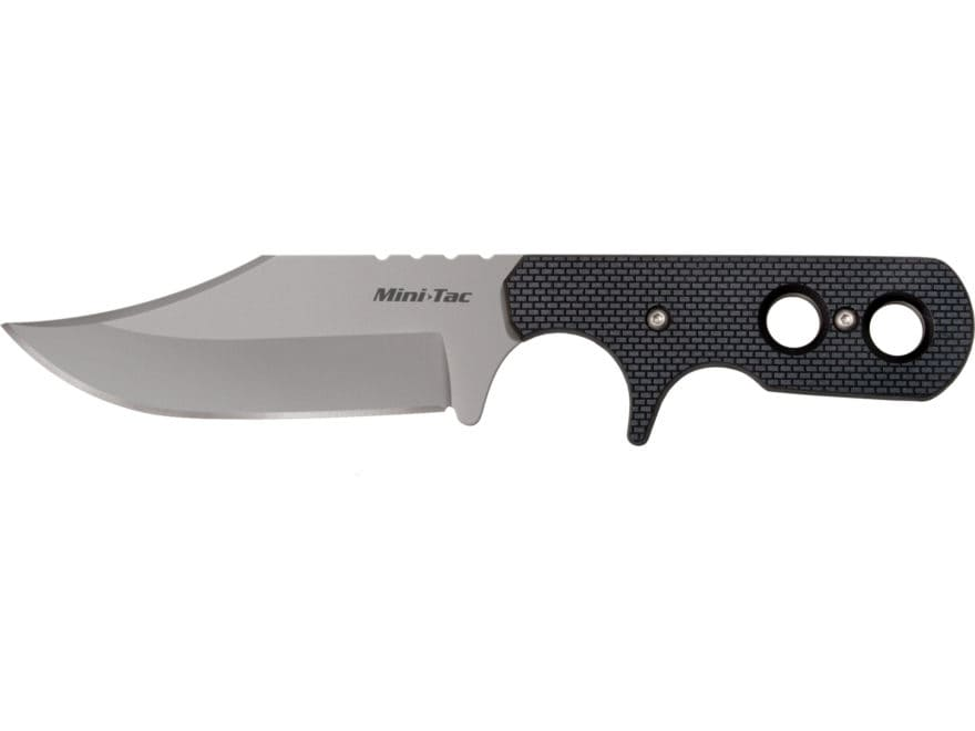 """Cold Steel Mini Tac Fixed Blade Bowie Knife 3.625"""" Clip Point AUS8A Stainless Steel Bla..."""