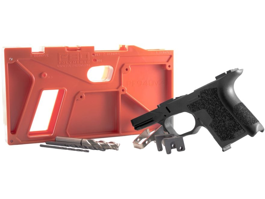Polymer80 PF940SC Sub Compact 80% Pistol Frame Kit Glock 26, 27 Polymer