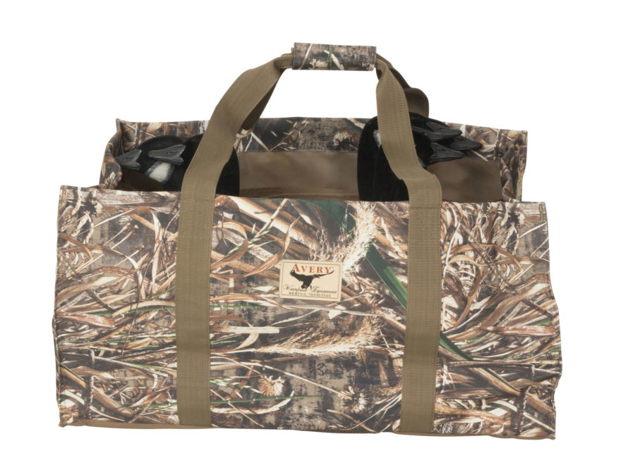 Avery 3D Silhouette Decoy Bag Nylon Mossy Oak Shadow Grass Blades Camo