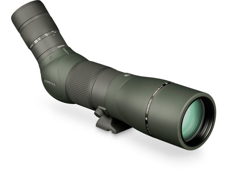 Vortex Optics Razor HD Spotting Scope 22-48x 65mm Wide Angle Armored Green