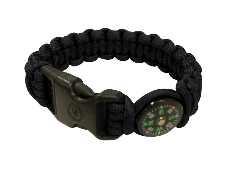 UST Paracord Survival Bracelet Compass Black - UPC  812713013228 f2134f4698e