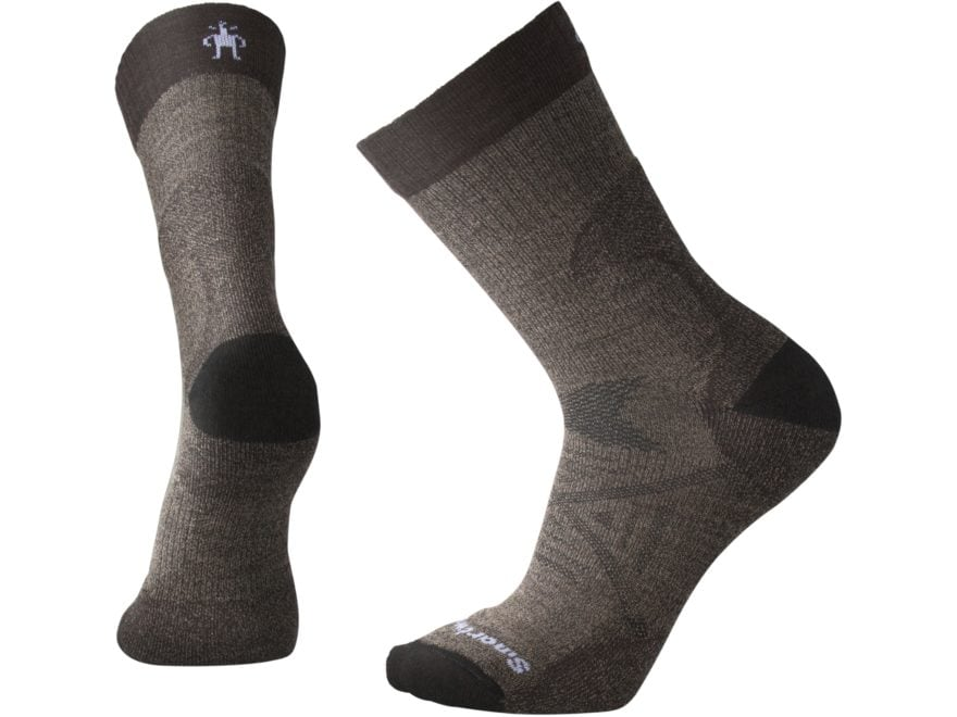Smartwool Men's PhD Pro Light Crew Socks Merino Wool/Nylon