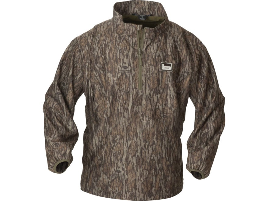 Banded Men's Windproof Pullover Polyester