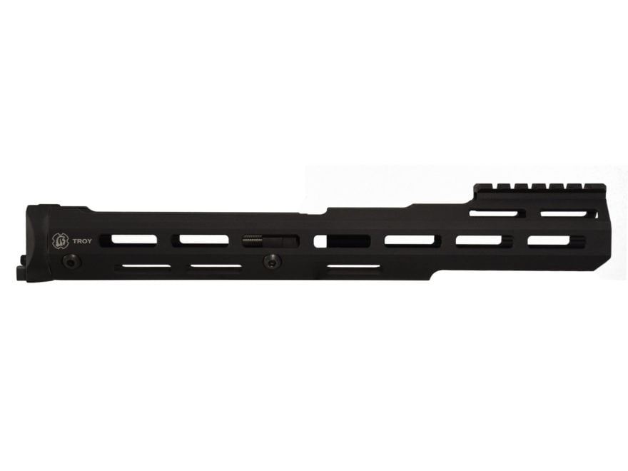 Troy Industries Extended M-LOK Handguard AK-47, AK-74 Stamped Receiver Aluminum Black