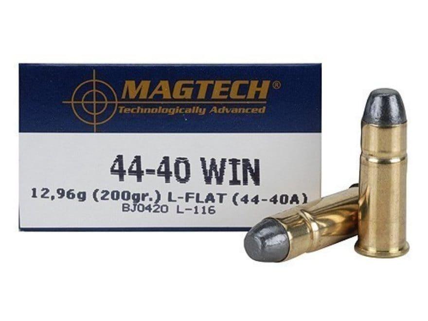 Magtech Sport Ammunition 44-40 WCF 200 Grain Lead Flat Nose Box of 50
