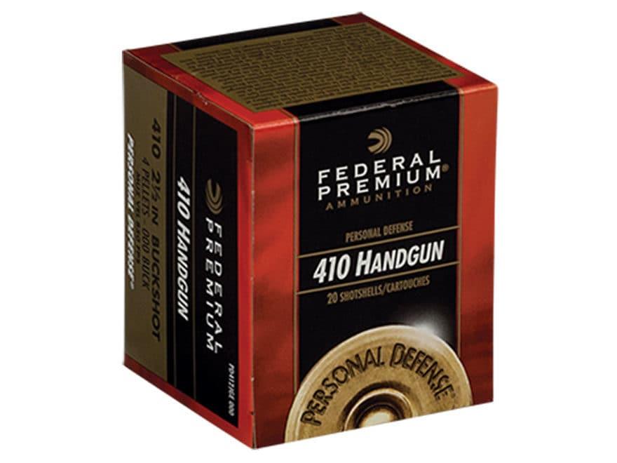 Federal Premium Personal Defense Ammunition 410 Bore